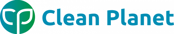 Clean Planet logo - landscape